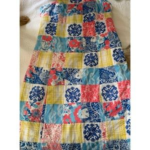 Lilly Pulitzer Dress Casa Marina Sewn Patch 0
